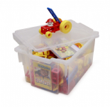 Mobilo Construction Set - 424 Pieces + Gratnells Tray + Lid